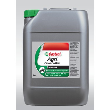 Castrol Agri Power Ultra 10W-40, 20Lt