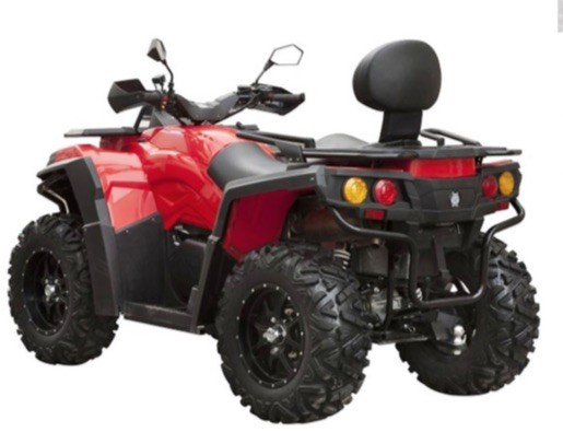 ATV model KXA-23 800cc 4x4